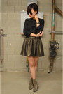 Boots-aldo-boots-black-blouse-zara-blouse-q2han-skirt