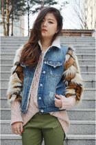 Sheinside coat - Q2HAN pants - jewelries shoplately ring