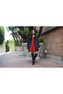 Dresslink-boots-red-party-dress-q2han-dress-oversized-coat-dresslink-coat