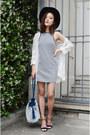Ich22-dress-bucket-bag-q2han-bag-spike-heels-shoplately-heels