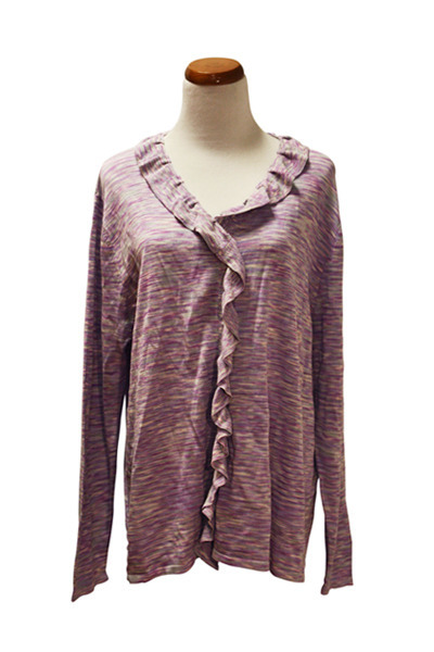 light purple QiCashmere jacket