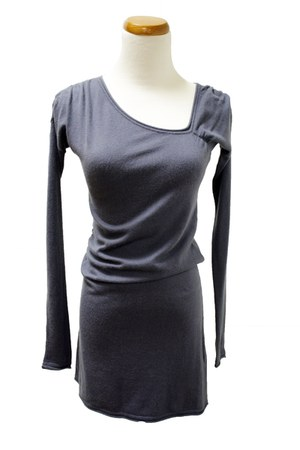 navy Qi cashmere dress