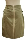 Dark-khaki-qi-skirt