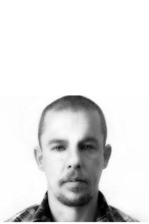 black Alexander McQueen wallet