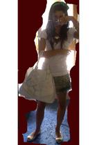 Primark accessories - Valentino purse - Zara skirt - Zara shoes