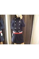 zaa blazer - Bershka top - Zara skirt