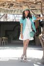 Turquoise-sammydress-blazer