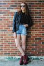 Brick-red-platform-jeffrey-campbell-boots-black-faux-leather-gift-jacket