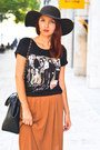 Kurtmann-t-shirt-stradivarius-hat-sammydress-bag-kurtmann-skirt