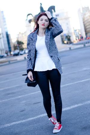 Stradivarius coat - Ahai Shopping pants