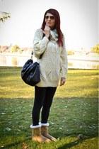 Zara sweater - Zara boots