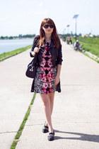 H&M dress - Zara loafers