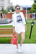 Carpisa bag - Choies shorts - Superga sneakers