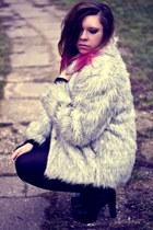 periwinkle vintage coat