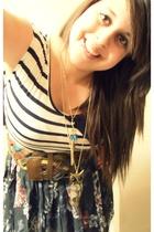 Charlotte Russe accessories - Charlotte Russe belt - Charlotte Russe skirt