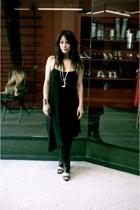 ann sophie back dress - martin margiela boots