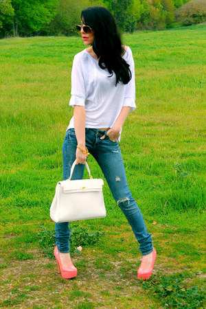 sky blue Love Culture jeans