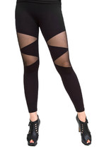 Triangle mesh leggings pants★FREE SHIPPING★