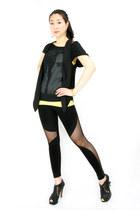 cua girl wwwgopinkponycom leggings
