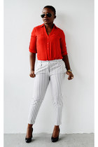 Express shirt - asos pants - Ralph Lauren pumps