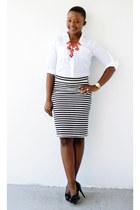 Old Navy skirt - Express shirt - Ralph Lauren pumps