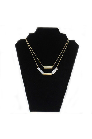 Rack and Sack necklace