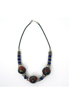 beaded Rack and Sack necklace