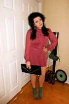 asos romper - Guess purse - Jeffrey Campbell heels