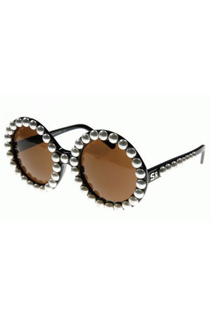 black Sonia Rykiel glasses