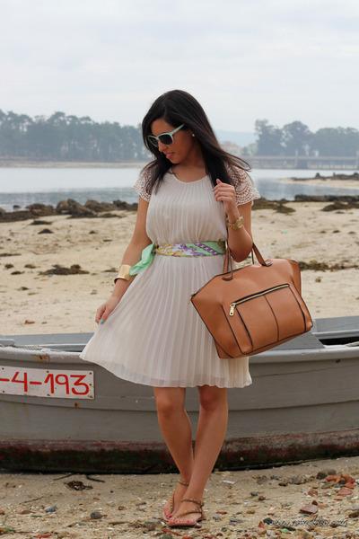 Zara dress - Zara bag - Zara sandals