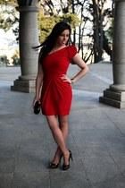 DIY dress - Zara heels