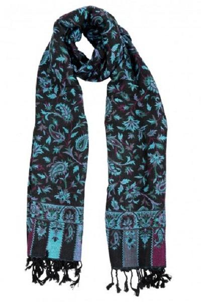 black Rajrang scarf