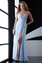 light blue silk emporio armani dress - light blue silk emporio armani dress
