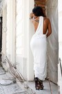 White-zara-dress