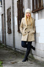Black-roots-boots-beige-trench-coat-f-f-coat-navy-miss-sixty-jeans