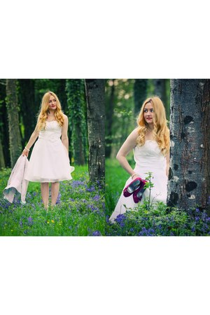 cream dressestylistcom dress