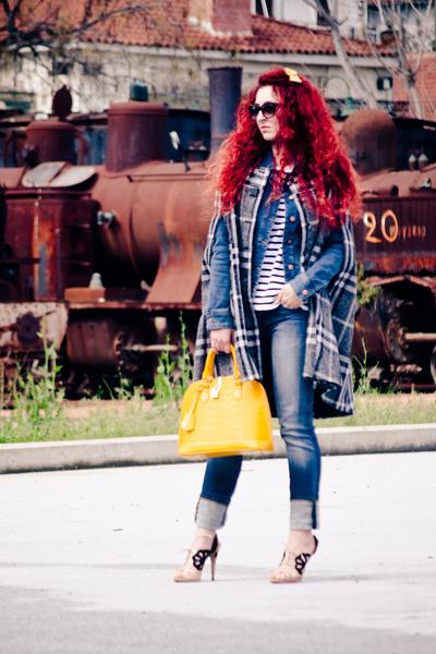 Miu Miu shoes - dior sunglasses - Zara top - Mango cape