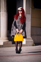 Mango cape - asos hat - chicnova bag - vintage sunglasses - Zara pumps