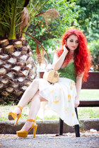 Zara shoes - Miss Sixty skirt
