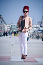 Sheinside-blazer-prada-sunglasses-christian-louboutin-pumps-zara-blouse