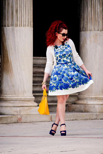 Steve Madden shoes - Oasis dress - dior sunglasses