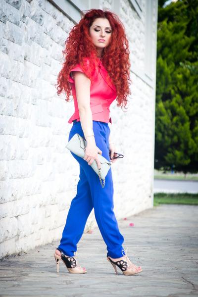 Massimo Dutti pants - Miu Miu shoes - Celine jacket