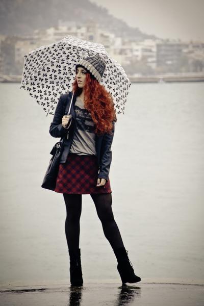 Choies jacket - Zara boots - Mango bag