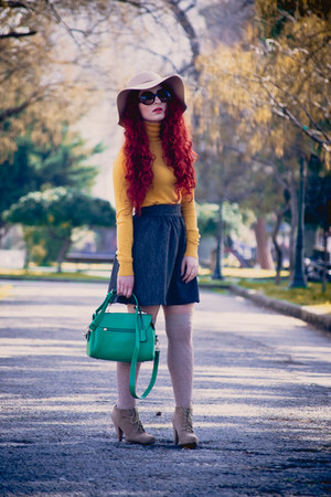 OASAP bag - asos sunglasses - Zara top