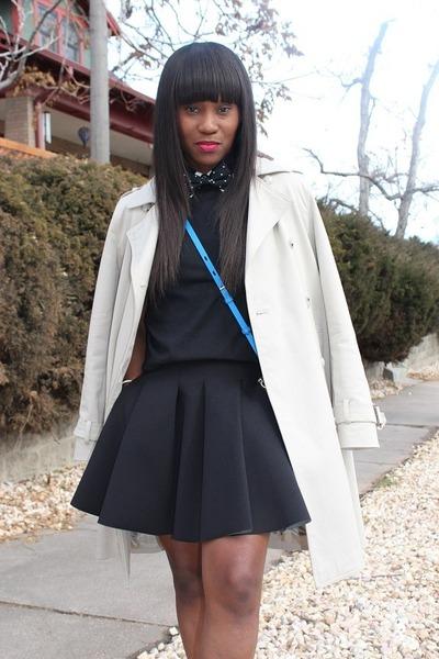 Express tie - Marc by Marc Jacobs jacket - Zara shirt - Alexander Wang skirt