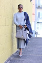 Saint Laurent bag - Tom Ford sunglasses - Jcrew pants - Manolo Blahnik heels