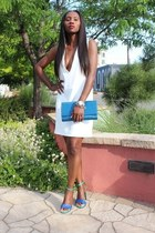 Solace London dress - Yves Saint Laurent bag - Yves Saint Laurent heels