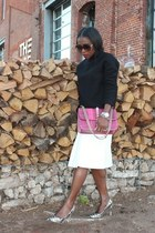 Bag bag - Skirt skirt - heels heels - Top top