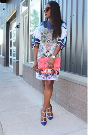 Clover Canyon dress - PROENZA SCHOULER bag - Valentino heels