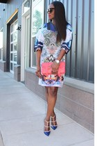 Clover Canyon dress - PROENZA SCHOULER bag - Valentino heels